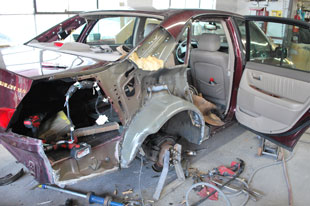 auto accident repair waltham mass